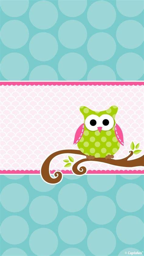girly owl wallpaper cute owl