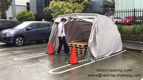 Car Cover Shelter Portable Car Shelter Hailstorm Test After Hailstorm