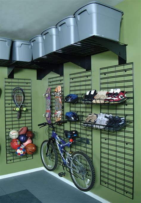 garage organizers shelving wall racks slatwall gridwall 12 best images about gridwall at home on new you wall racks and set of drawers