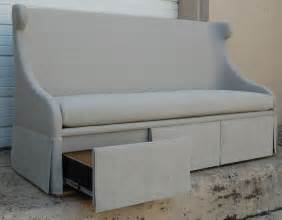 buy desseault storage banquette sofas seating