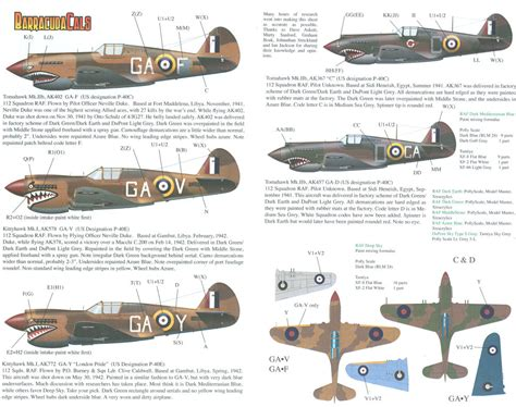 section 40b barracudacals 48005 1 48 p 40s of 112 squadron raf part 1