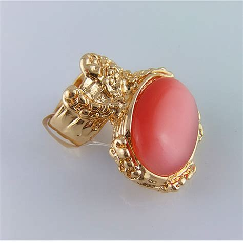 Chunky Cats Eye Ring At Oasis by Cirgen Fashion Opal Ring Gold Plated Chunky Cat S Eye Ring