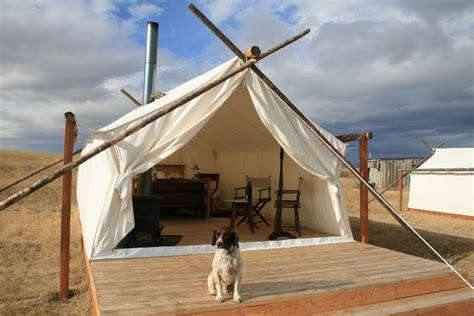 Permanent Tent Cabins by Canvas Wall Tents