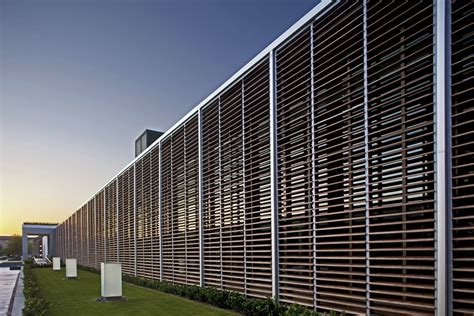 curtain wall louvers project gallery