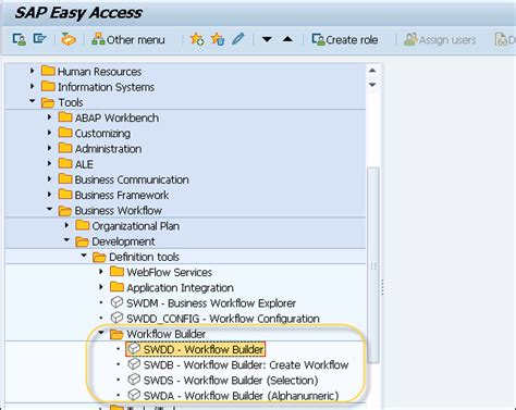 workflow builder sap business workflow builder