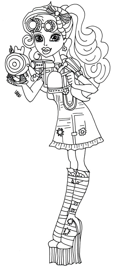 coloring pages for art class monster high lagoona blue coloring page 2017 2018 best