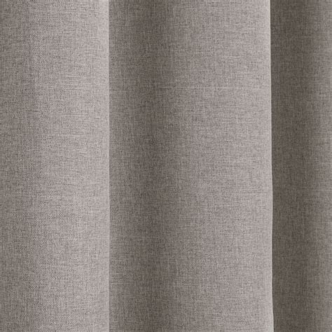 textured blackout curtains textured woven plain thermal blackout linen look eyelet
