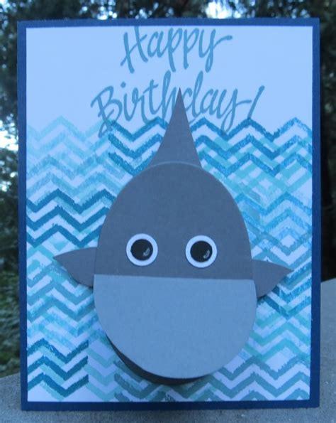 Shark Birthday Card Awesome Austin S Shark Birthday Card Sting With Blythe