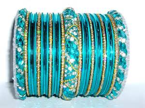 Gold Chair Hire Turquoise Indian Fashion Bangles