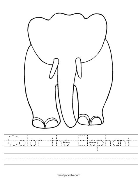 grey elephant coloring pages elephant preschool worksheet elephant best free