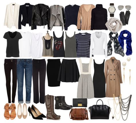 Minimalist Closet List by Wardrobe Wardrobe Essentials