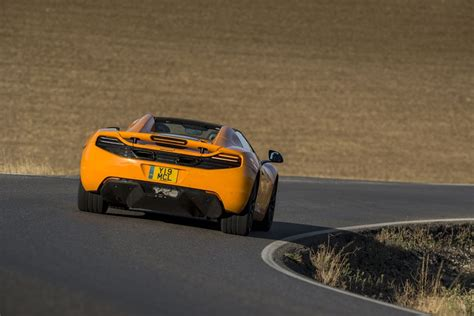 orange mclaren rear 2014 mclaren mp4 12c spider rear photo mclaren orange