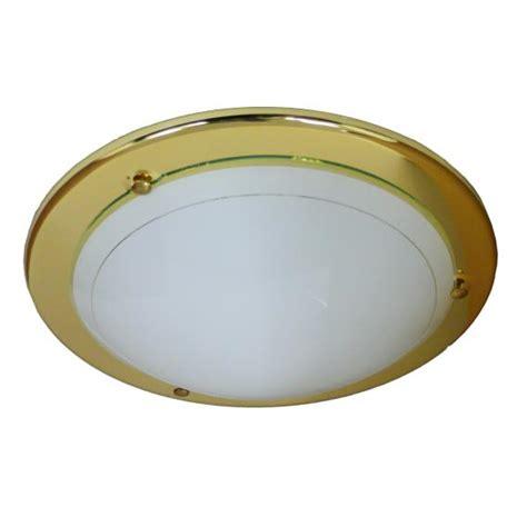 ceiling light polished brass 310mm