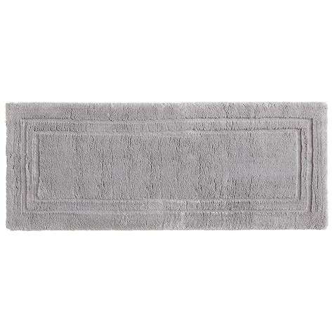 24 X 60 Bath Rug Mohawk Imperial 24 In X 60 In Cotton Runner Bath Rug In Gray 079032 The Home Depot