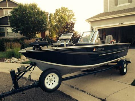 18 ft v bottom aluminum boat 18 foot sylvan fish and ski boat nex tech classifieds