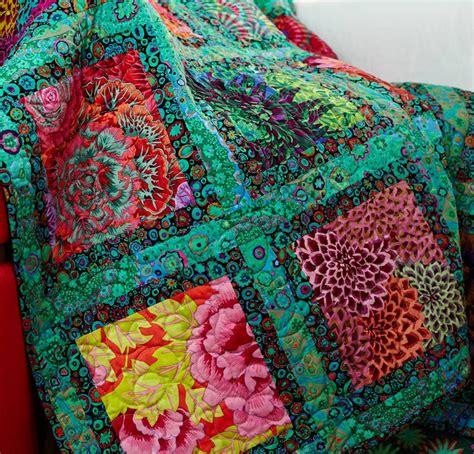Kaffe Fassett Quilt Kit by Kaffe Fassett On Snowball Quilts Quilt Kits