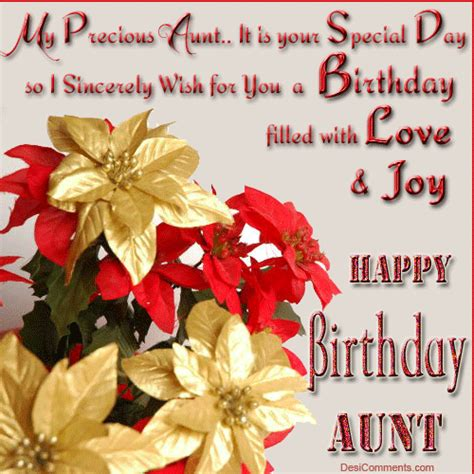 Happy Birthday Quotes For Aunts Happy Birthday Aunt Inspirational Quotes Quotesgram