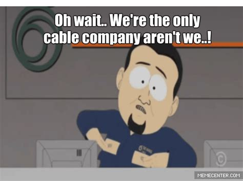 South Park Cable Company Meme - time park gif find share on giphy