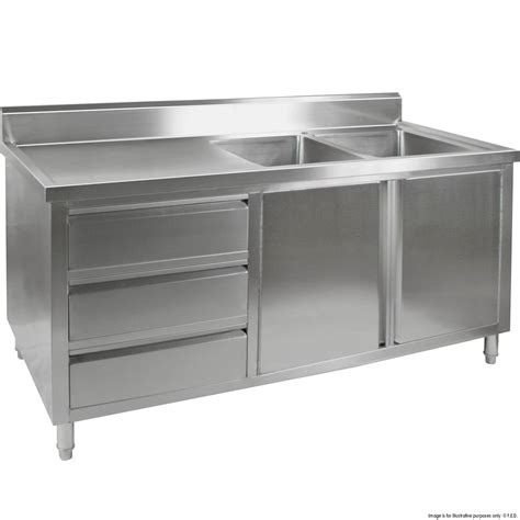 stainless steel cabinets for kitchen tidy premium stainless steel cabinet with double