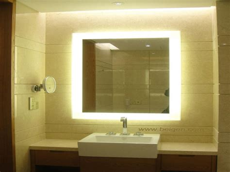 Illuminated Vanity Mirror Backlit Vanity Mirror Lighted Lighted Bathroom Vanity Mirror