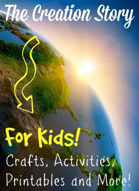 themes in the creation story 25 best ideas about gods creation crafts on pinterest