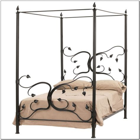 Wrought Iron Canopy Bed Wrought Iron Beds Ikea Beds Home Design Ideas Qbn1a05n4m4910