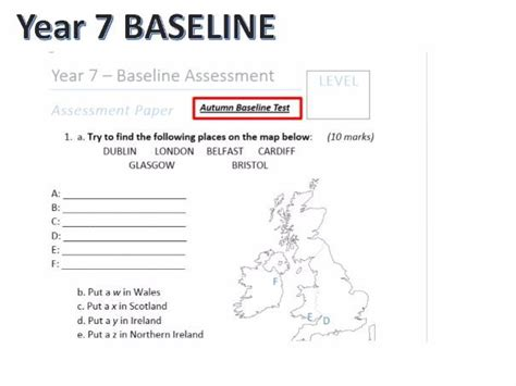 quiz questions ks3 ks3 geography year 7 baseline assessment with answers by