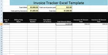excel tracking template invoice tracker excel template xls microsoft excel templates