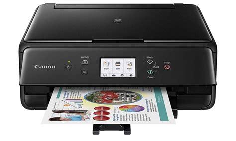 Printer Foto Canon Mini canon pixma ts6020 wireless inkjet all in one auto duplex printer groupon