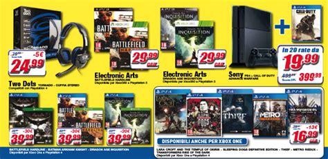 offerte console xbox one offerte playstation 4 offerte xbox one sconti e