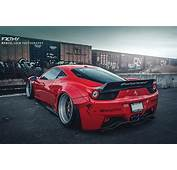 Photoshoot Amazing Red Liberty Walk Ferrari