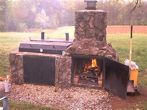 backyard brick bbq pits i think i have to build this smoker for my backyard for