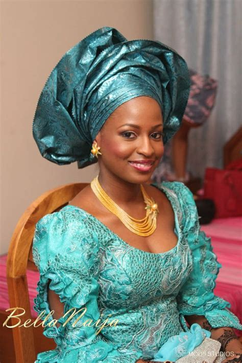 hausa dress styles bella naija bride ameena in makeup by anna for bmpro gele