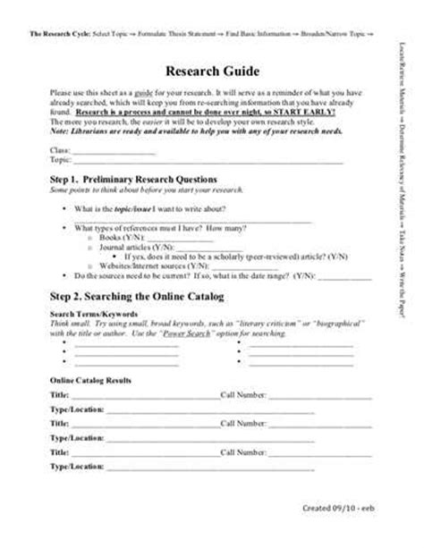research paper worksheets mla research paper worksheets source