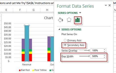 format secondary axis excel 2007 excel dashboard templates how to make an excel bullet