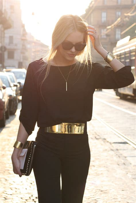 Purse Trend Black With A Touch Of Gold by Trends Summer In Black 2018
