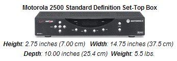 reset verizon fios tv remote motorola 2500 standard definition set top box fios tv