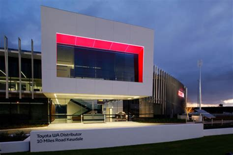 toyota headoffice commercial interior design projects roxby architects