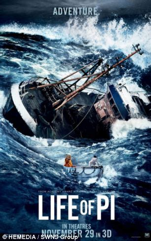 sinking boat movies sinking container ship featured in hit film life of pi is