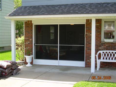 garage door screen enclosures garage screen door patio enclosure installation gallery