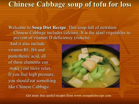 image gallery ingredients for soup diet