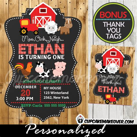 printable farm animal birthday invitations farm birthday invitation barn wood personalized d1