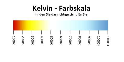 Kelvin Licht by Lichtbiologie Farbtemberatur Und Stimmung Len Led