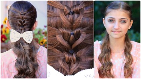 cute hairstyles and how to do it mermaid heart braid cute valentine s day hairstyles