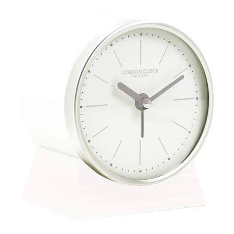 buy clock buy skarp white resin alarm clock online purely wall clocks