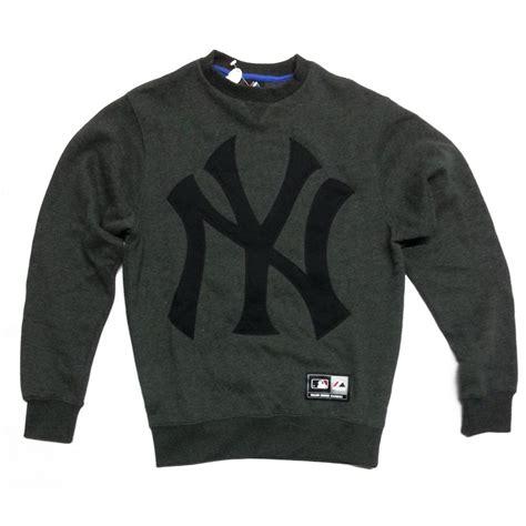 Sweater Sweatshirt Yankees Nike Terlaris buy majestic tangen ny yankees crew sweater grey