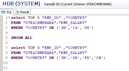 sql script tutorial sap hana complete sap hana sql script tutorial 9 9 sql join