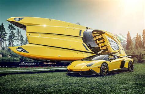 Lamborghini Boat Lamborghini Aventador Supercar Lamborghini Boat Boat