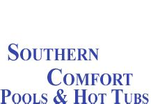 southern comfort logo home southern comfort pools and hot tubs