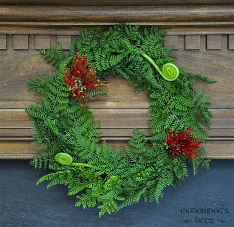 christmas wreath new zealand christmas wreath with